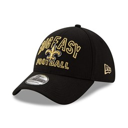 New Orleans Saints NFL20 Draft Black 39THIRTY Cap