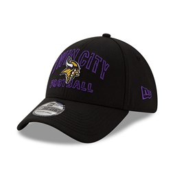 Minnesota Vikings NFL20 Draft Black 39THIRTY Cap