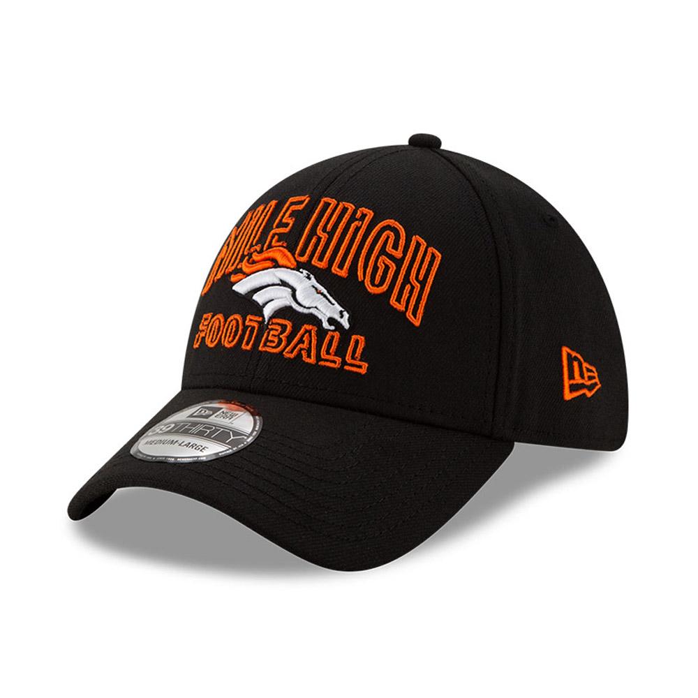 Gorra Denver Broncos NFL20 Draft 39THIRTY, negro