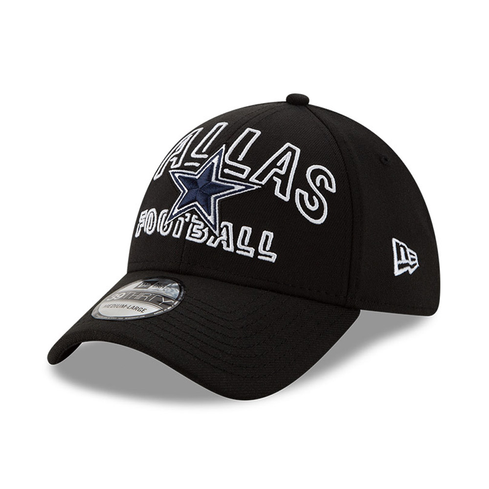 Dallas Cowboys NFL20 Draft Black 39THIRTY Cap