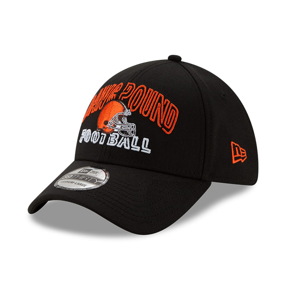Gorra Cleveland Browns NFL20 Draft 39THIRTY, negro