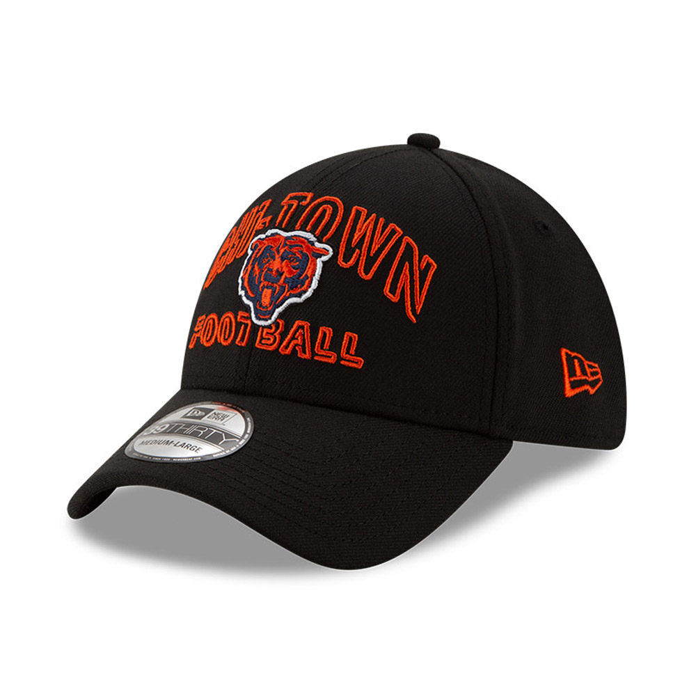 Chicago Bears NFL20 Draft Black 39THIRTY Cap