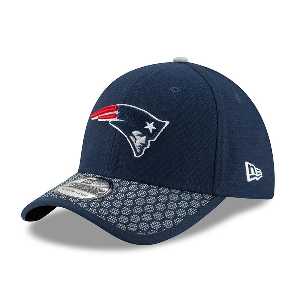 39THIRTY – New England Patriots – 2017 Sideline, Marineblau