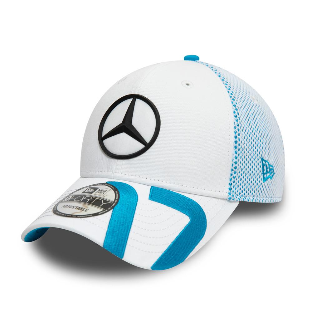 Cappellino Mercedes-Benz Formula E De Vries 9FORTY bianco