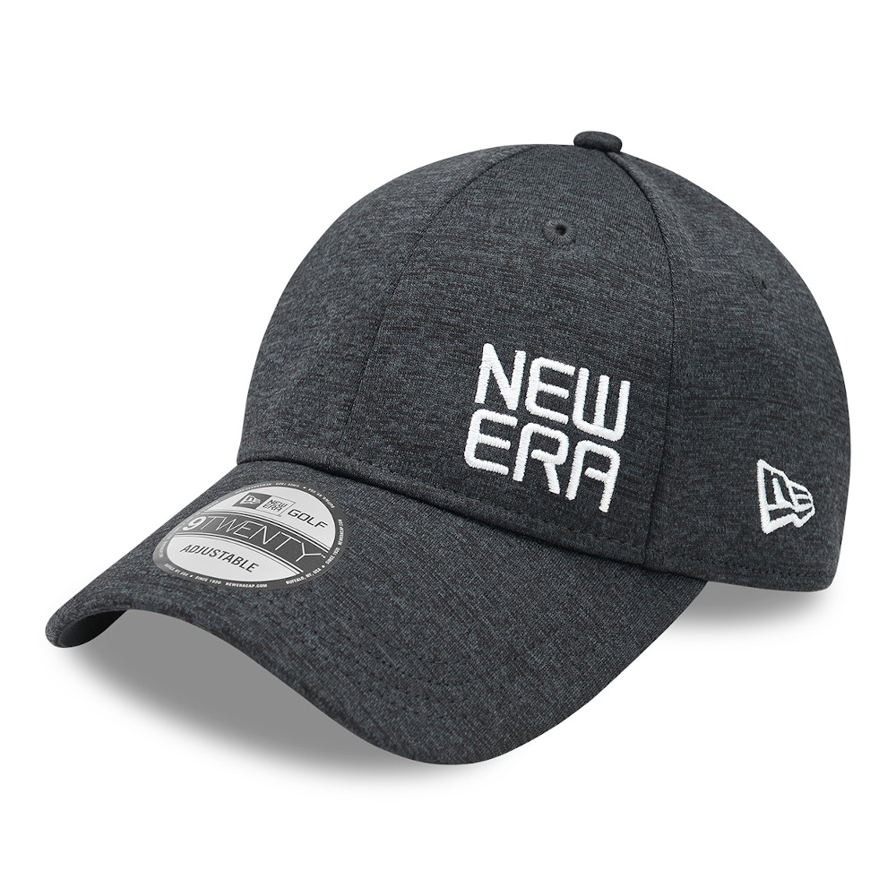 Casquette New Era Golf Shadow Tech Dark 9TWENTY, grise
