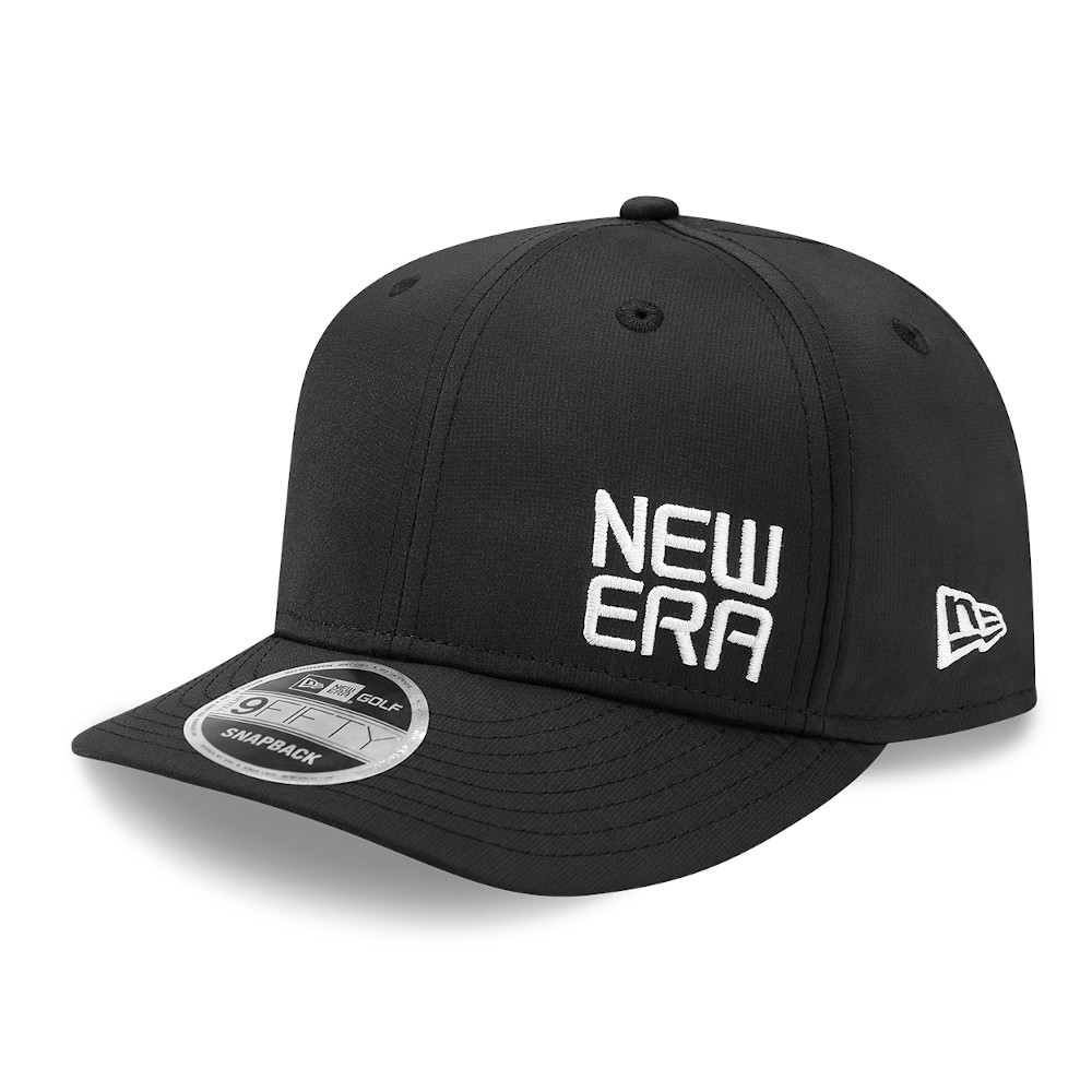 Gorra New Era Golf 9FIFTY, negro