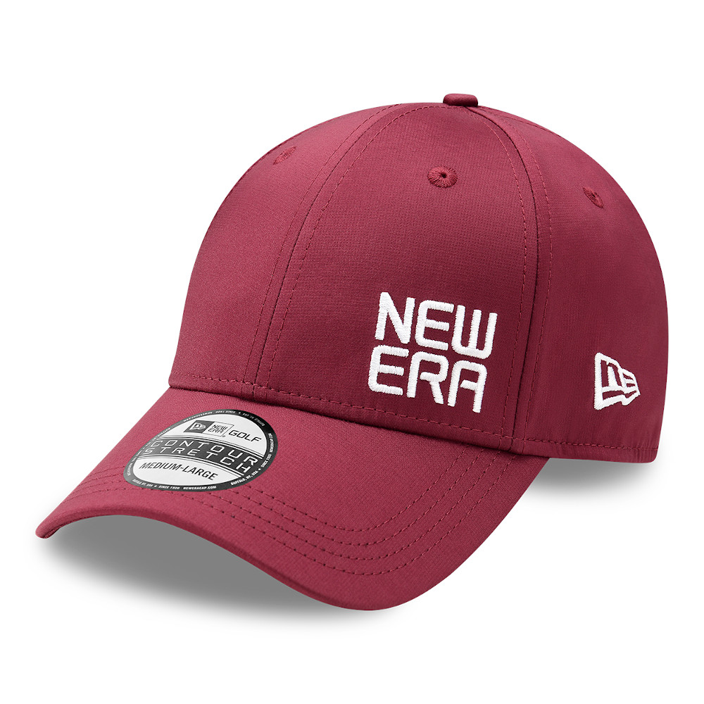 Gorra New Era Golf 39THIRTY, rojo