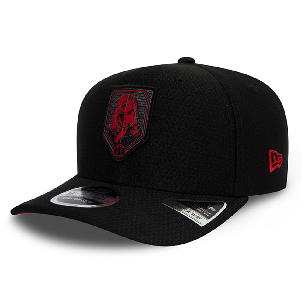 Gorra Black Widow 9FIFTY Stretch Snap, negro