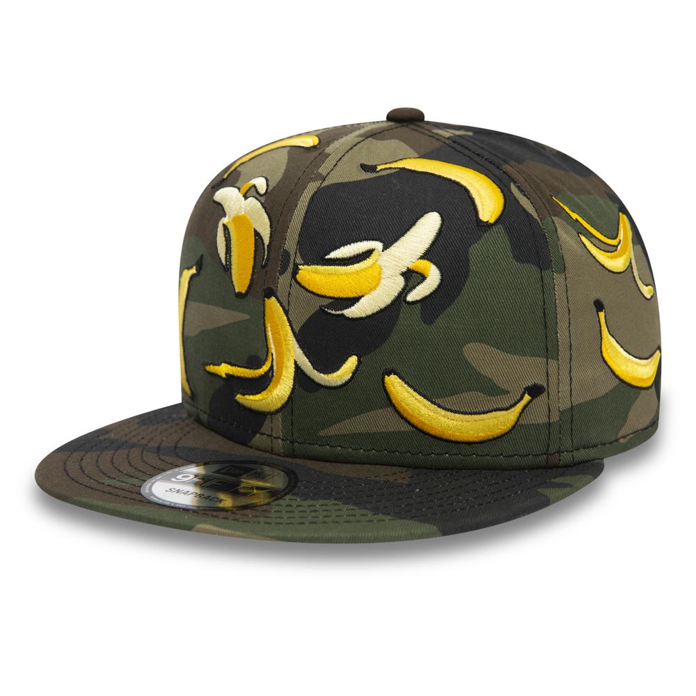 New Era – 9FIFTY – Kappe mit Bananen-Camouflagemuster
