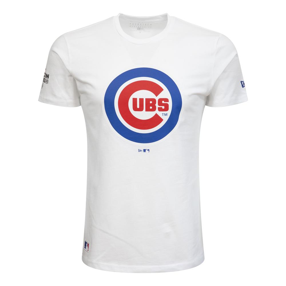 T-shirt Chicago Cubs London Games bianca
