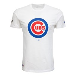Chicago Cubs London Games White T-Shirt