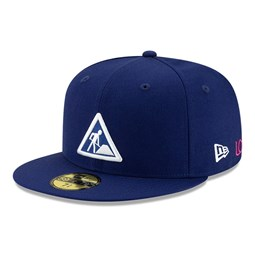 Cappellino New Era X Dave East 59FIFTY blu scuro