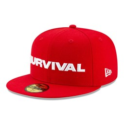 59FIFTY – New Era X Dave East – Kappe in Rot