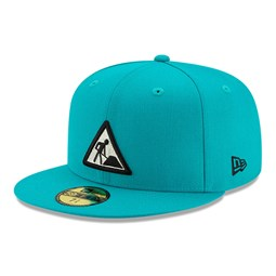 New Era X Dave East Turquoise 59FIFTY Cap