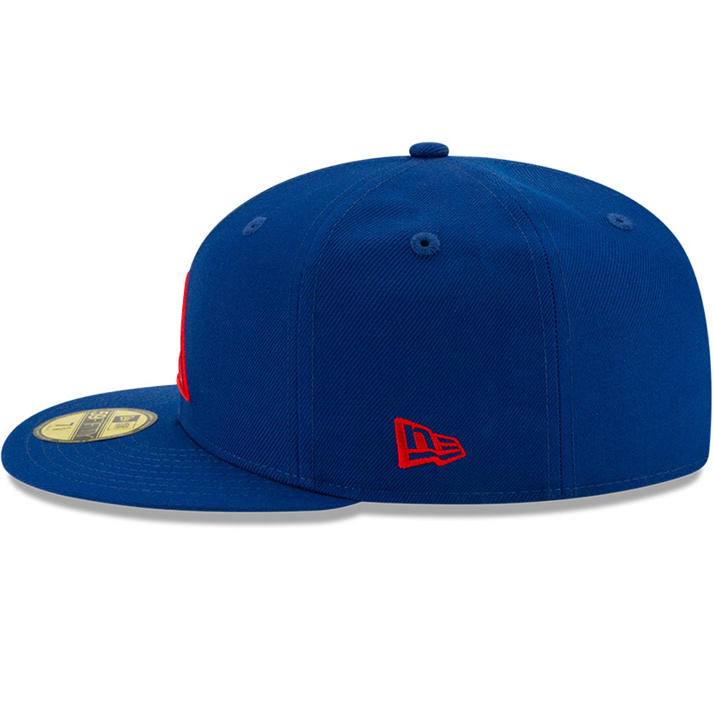 Casquette59FIFTY New EraX Dave East bleue