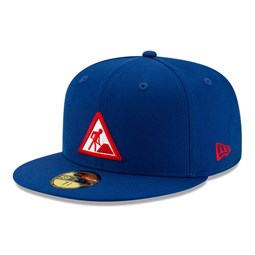 Casquette 59FIFTY New Era X Dave East bleue