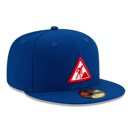 New Era X Dave East Blue 59FIFTY Cap
