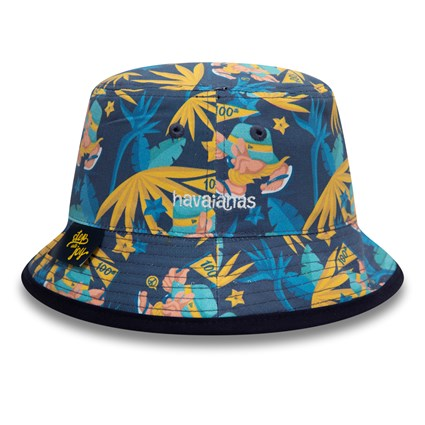 New Era X Havaianas Navy Bucket