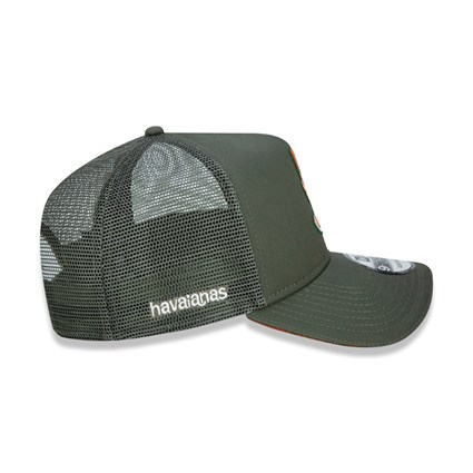 New Era X Havaianas Green 9FORTY Cap