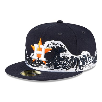 Houston Astros 100 Years Wave Navy 59FIFTY Cap