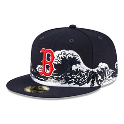 Gorra Boston Red Sox 100 Years Wave 59FIFTY, azul marino