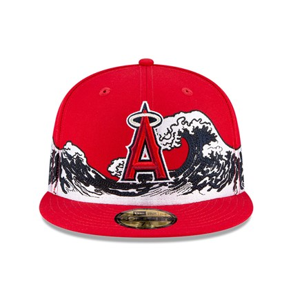 Anaheim Angels 100 Years Wave Red 59FIFTY Cap