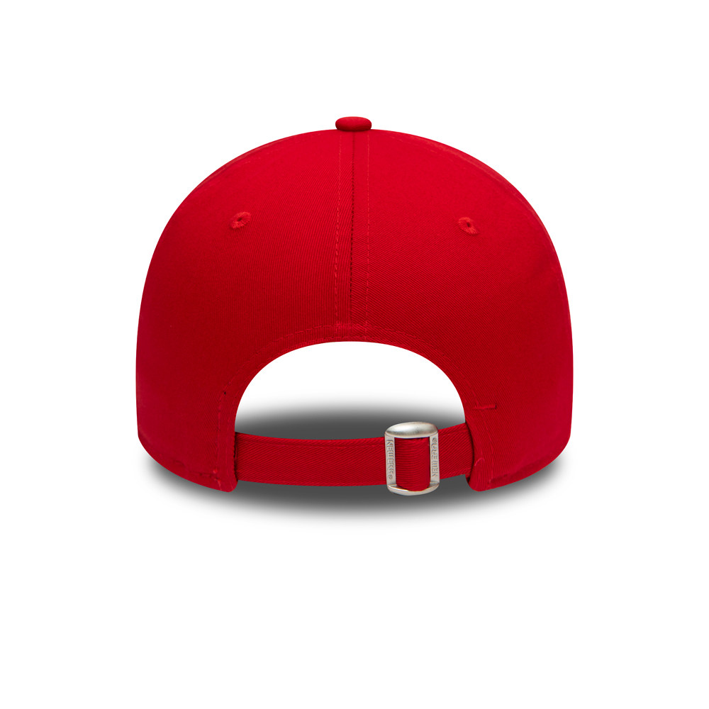 Casquette England Rugby Union Rose 9FORTY, rouge