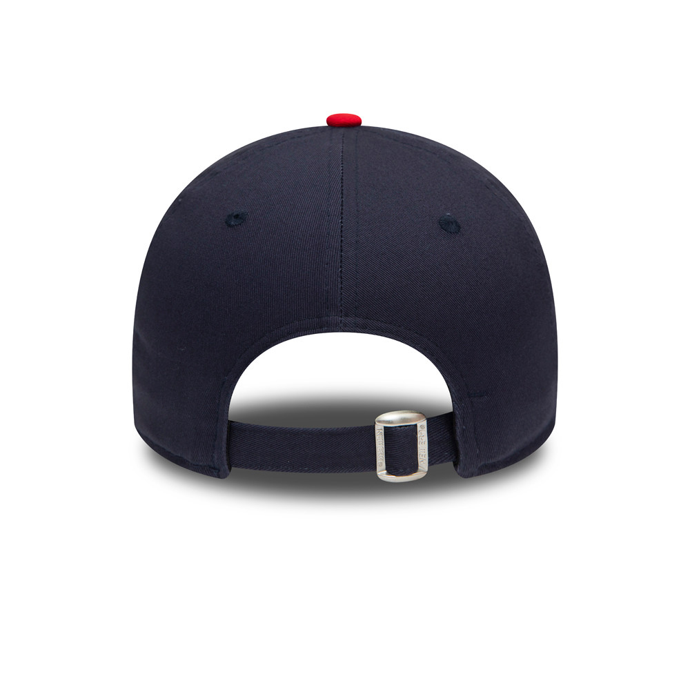 Casquette England Rugby Union Rose 9FORTY, bleu marine