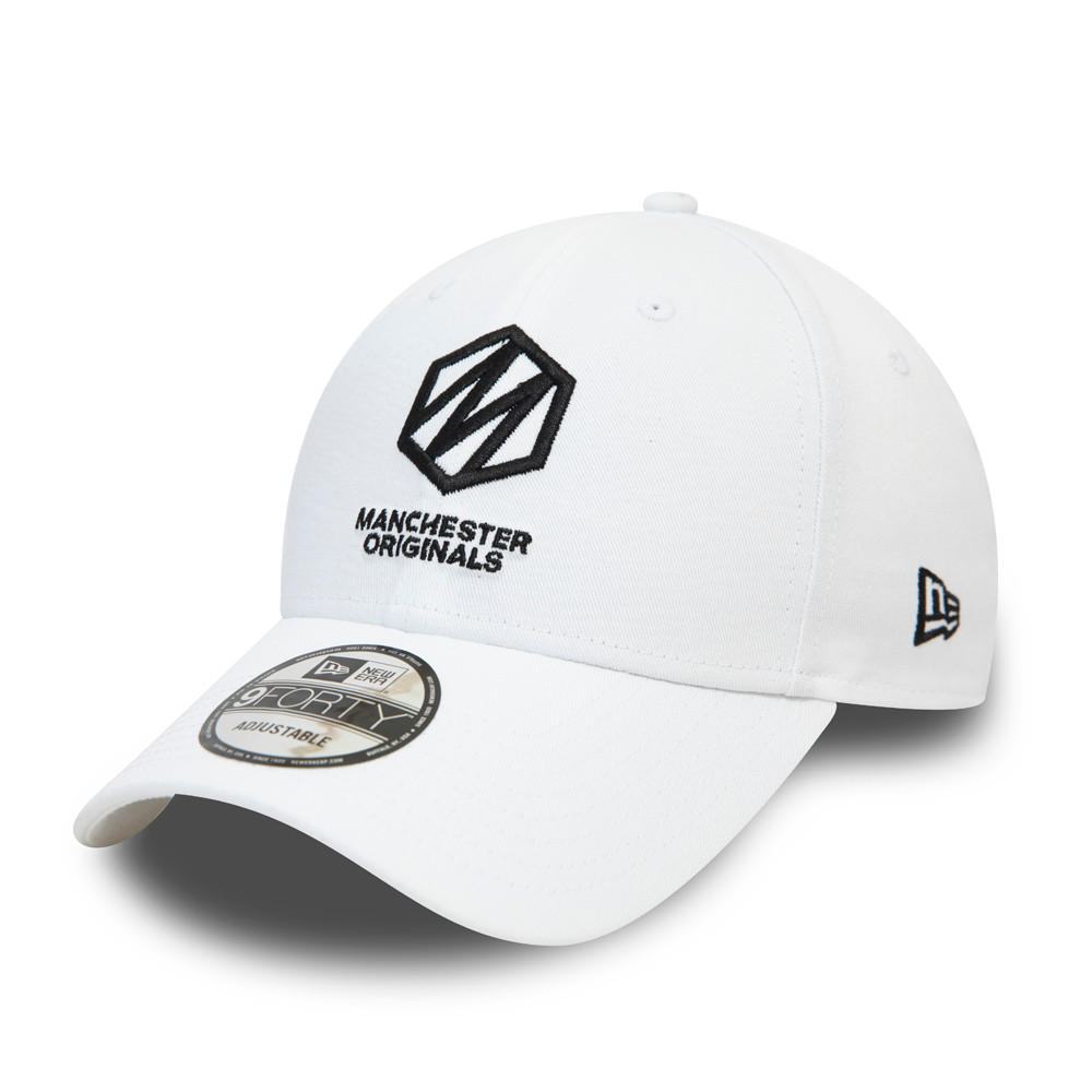 Cappellino 9FORTY The Hundred Essential dei Manchester Originals bianco