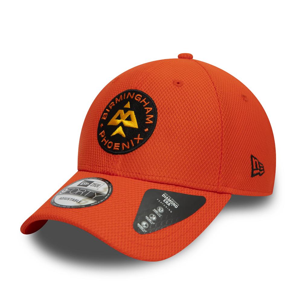 9FORTY – Birmingham Phoenix – The Hundred – Diamond Era – Kappe in Orange