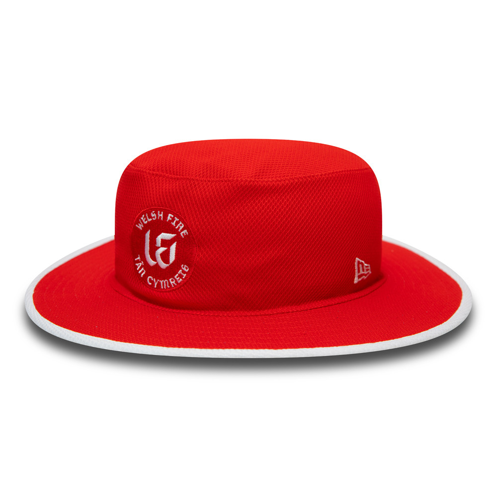 Welsh Fire The Hundred Red Panama Bucket Hat