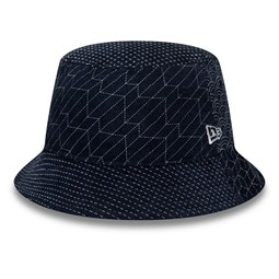 New Era All Over Print Indigo Bucket