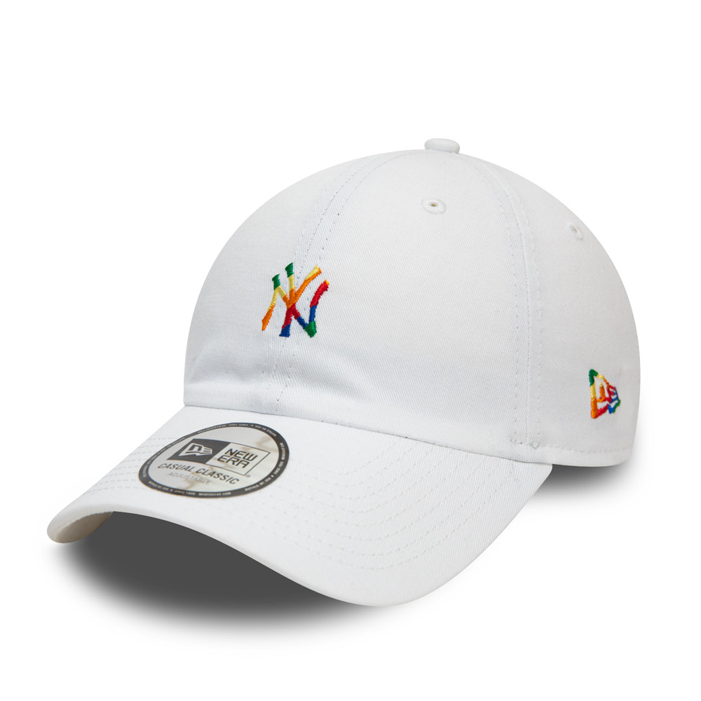 Casual Classic – New York Yankees – Pride Logo – Kappe in Weiß