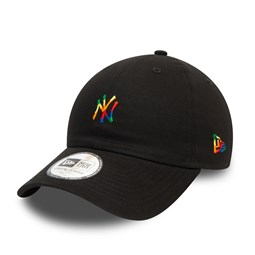 New York Yankees Pride Logo Black Casual Classic Cap