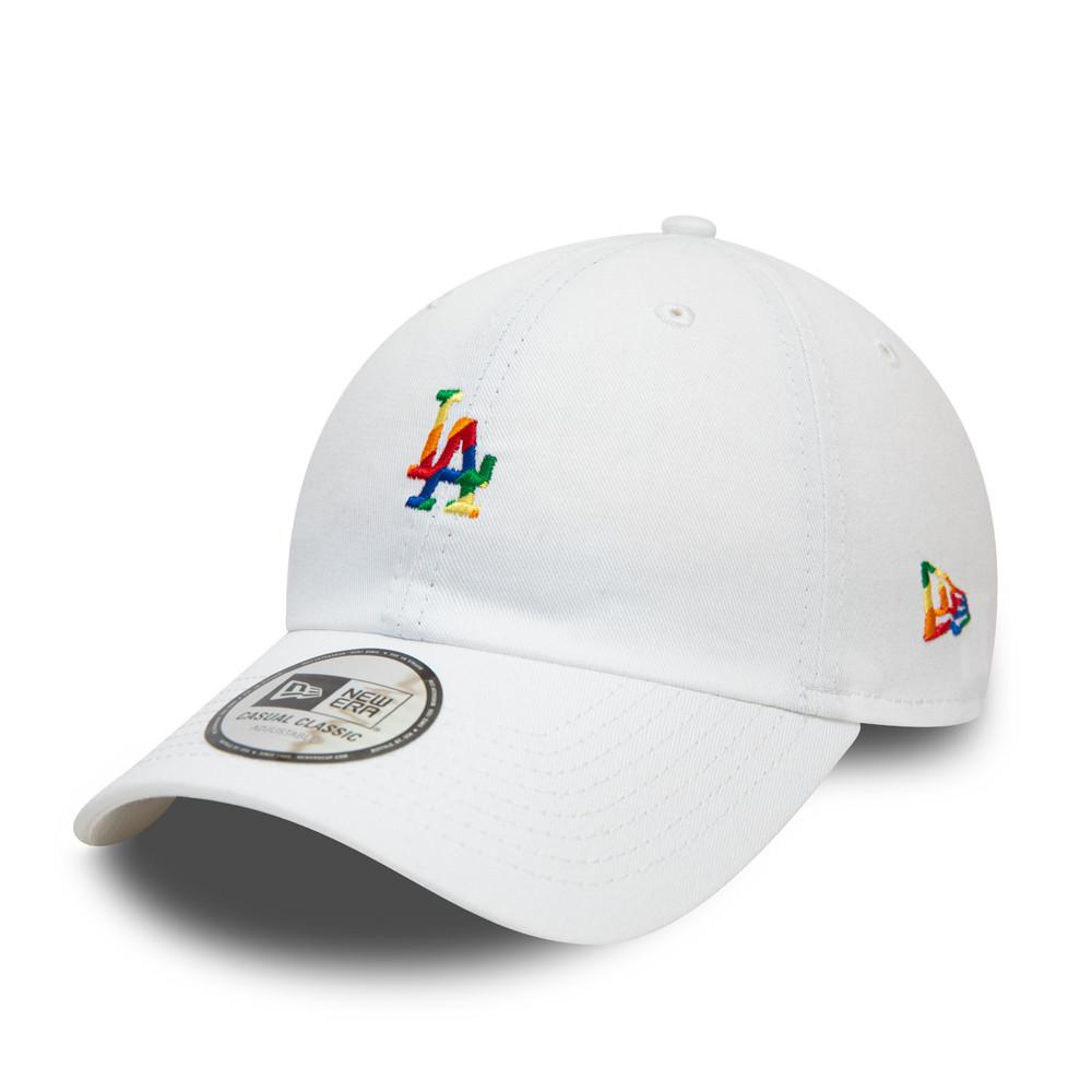 Casquette Casual ClassicLA Dodgers PrideLogo, blanc
