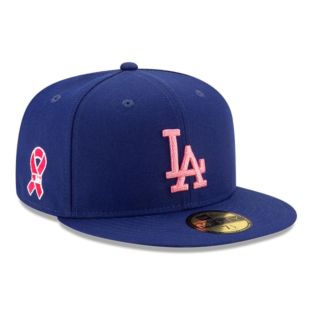 CasquetteLA Dodgers On Field59FIFTY fête des Mères, bleu