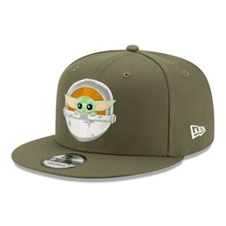 The Mandalorian Baby Yoda Khaki 9FIFTY Cap