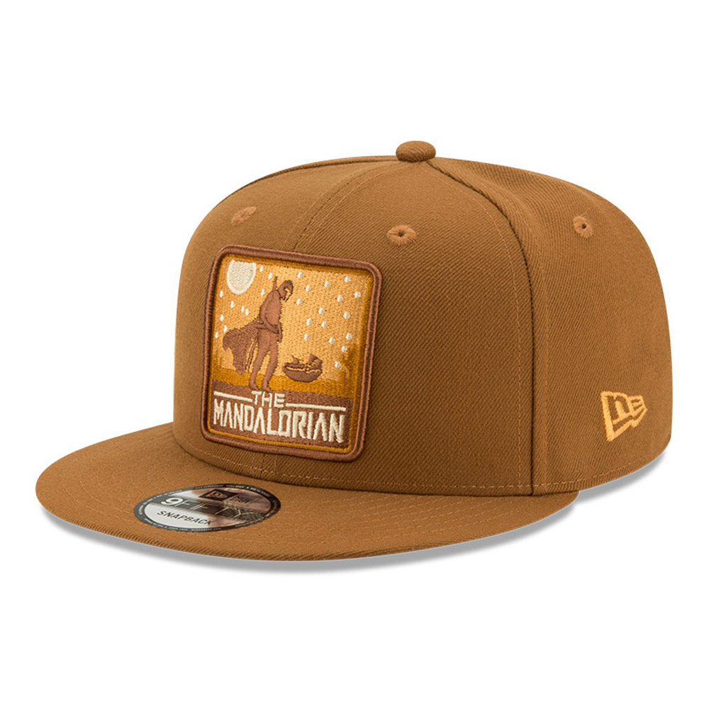 Casquette 9FIFTY The Mandalorian, marron