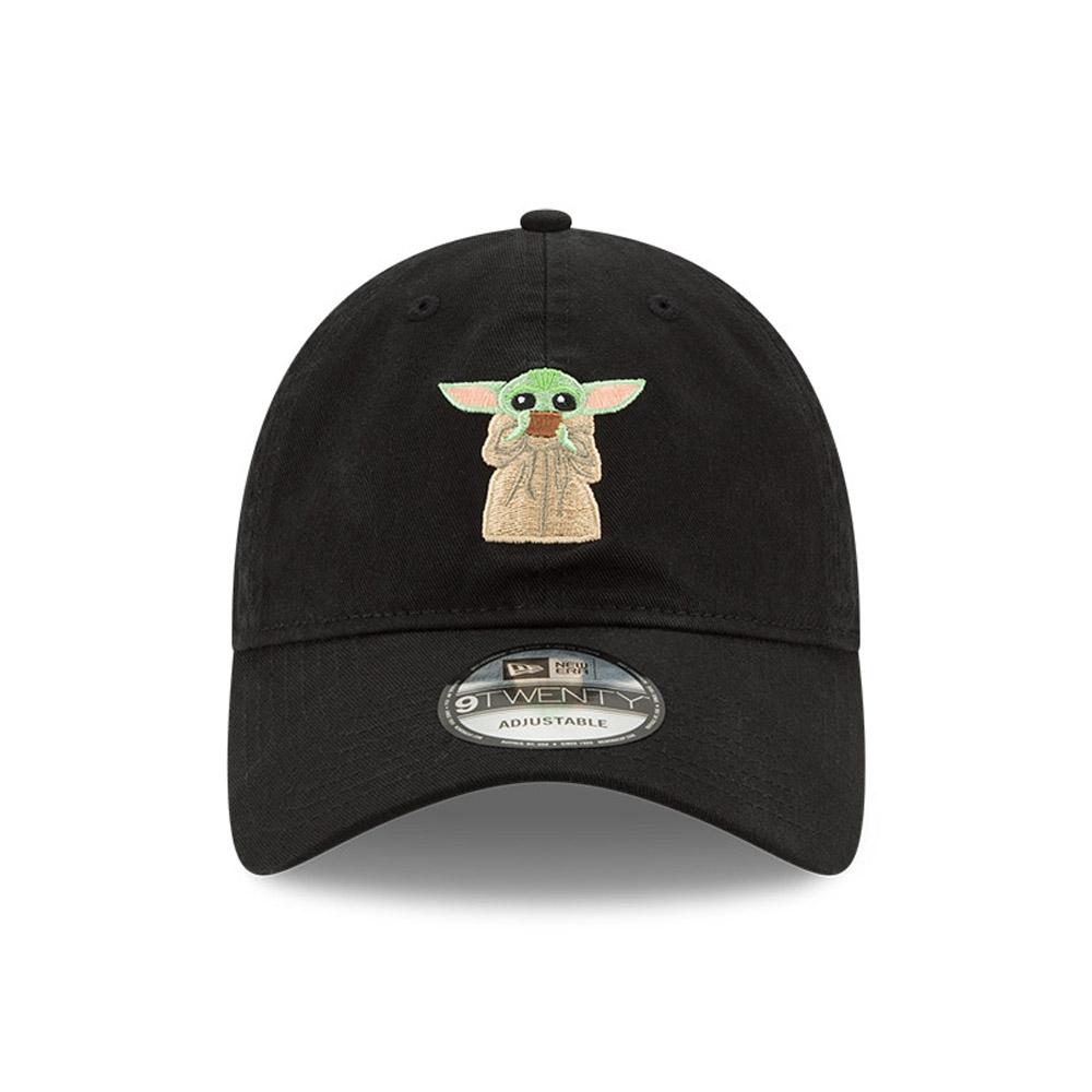 Cappellino The Mandalorian Baby Yoda 9TWENTY nero