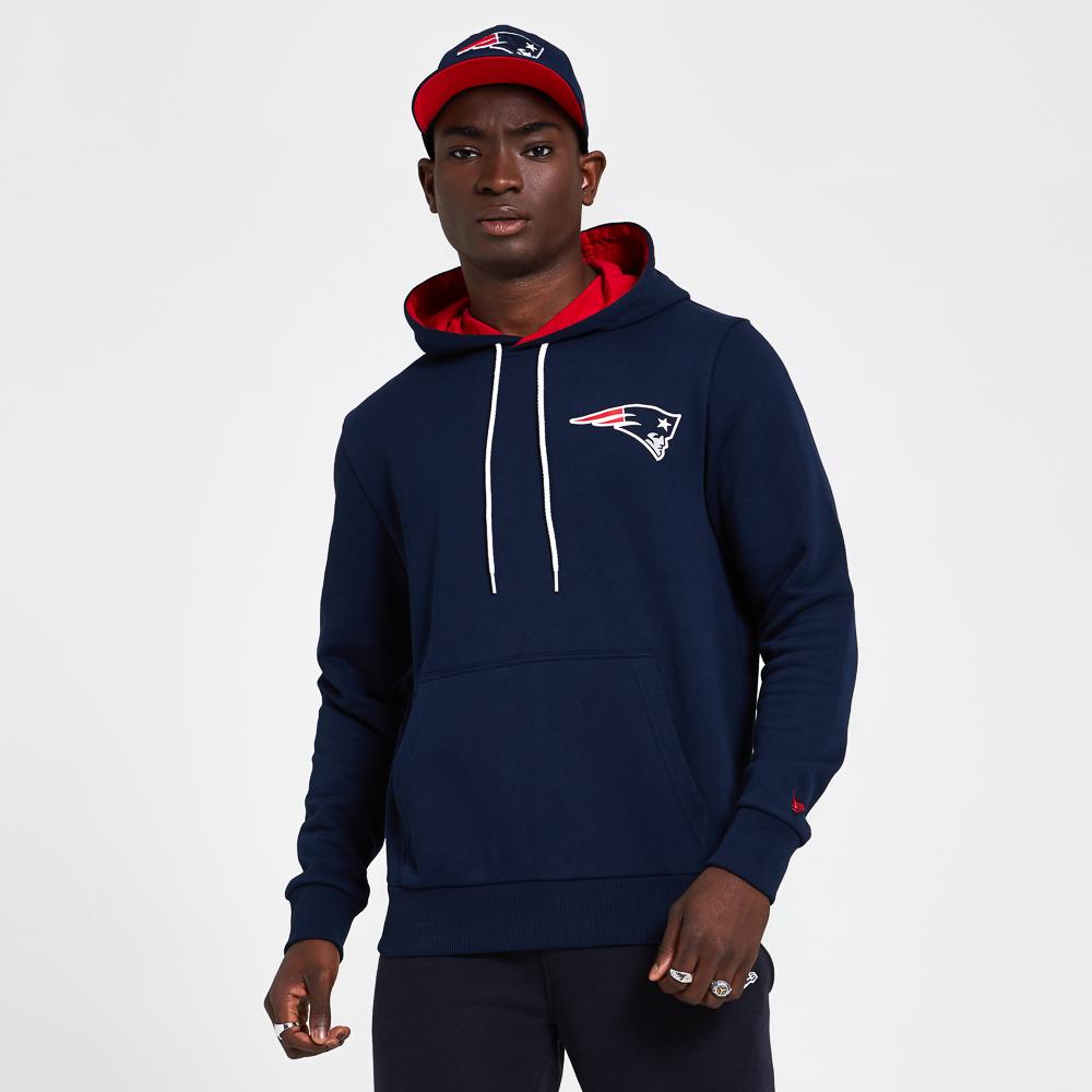 Felpa con cappuccio Logo Drawstring dei New England Patriots