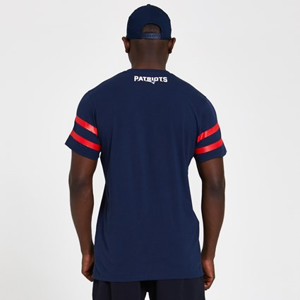 New England Patriots Logo Elements Navy T-Shirt
