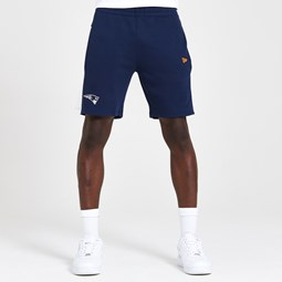 New England Patriots Contrast Panel Navy Shorts