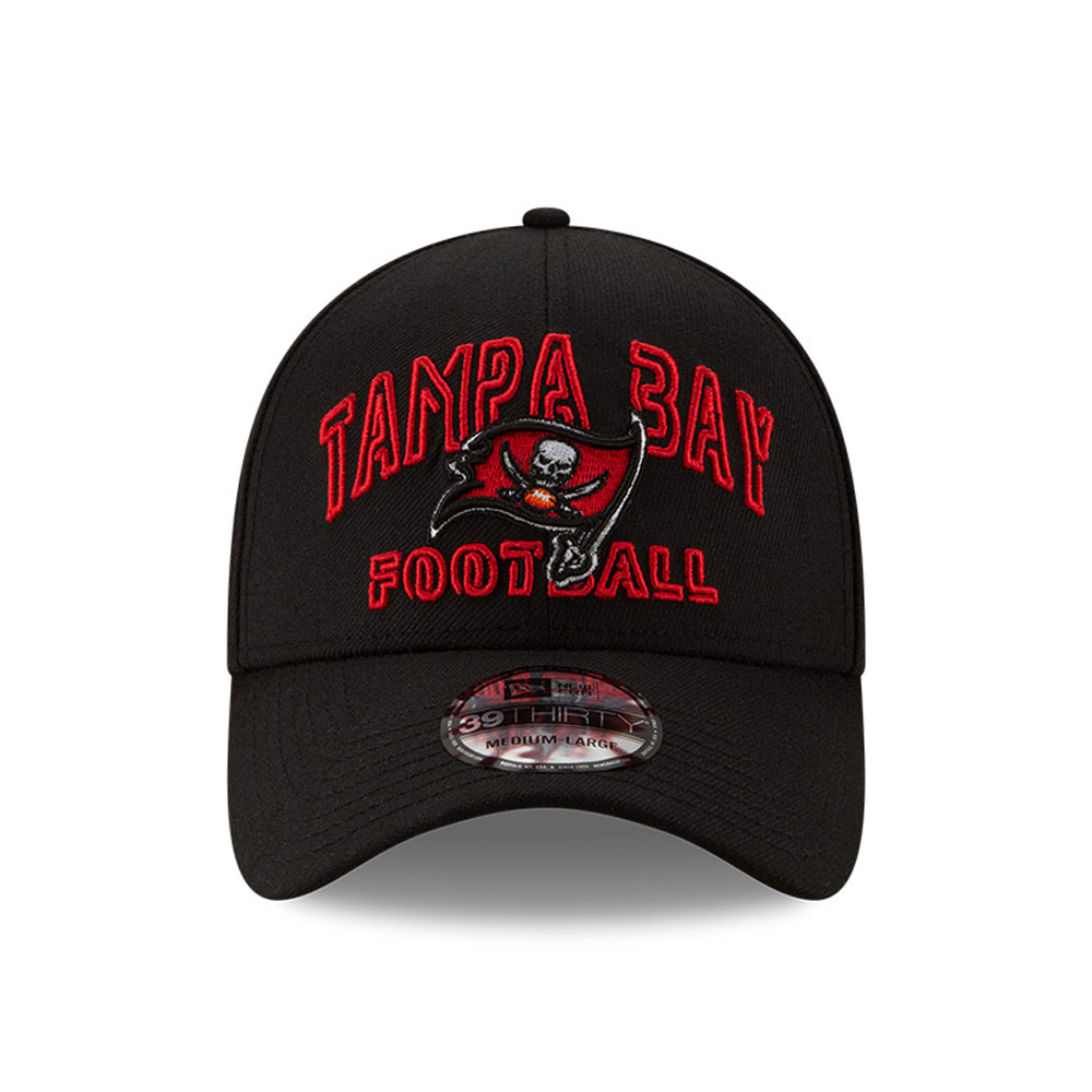 Tampa Bay Buccaneers NFL20 Draft Black 39THIRTY Cap