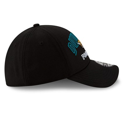 Jacksonville Jaguars NFL20 Draft Black 39THIRTY Cap