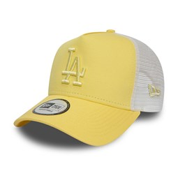 Los Angeles Dodgers Essential Womens Yellow Trucker