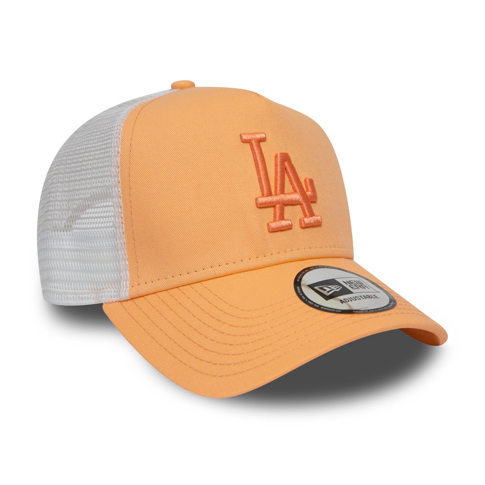 Los Angeles Dodgers Essential Womens Peach Trucker