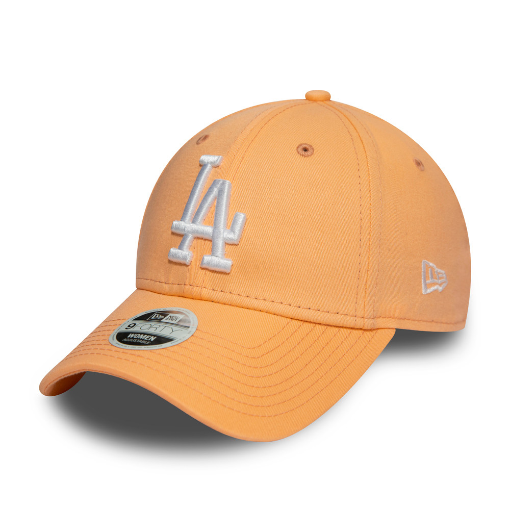 Los Angeles Dodgers – Essential  9FORTY-Damenkappe – Pfirsichfarbe