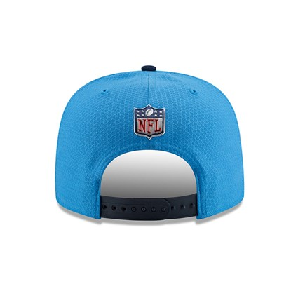 f0cf8062662721 Los Angeles Chargers 2017 Sideline OF 9FIFTY Blue Snapback | New Era
