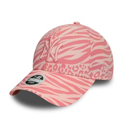 New York Yankees Tonal All Over Print Womens Pink 9FORTY Cap
