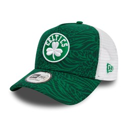 Boston Celtics – Hook – Truckerkappe in Grün mit Print